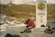 1991, Khunjerab Pass, Grenze Pakistan / China