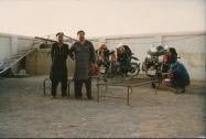 Nachtlager, Grenze Pakistan / Iran, 1991