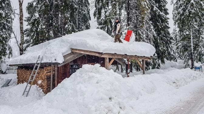 Schnee satt in Ruhpolding