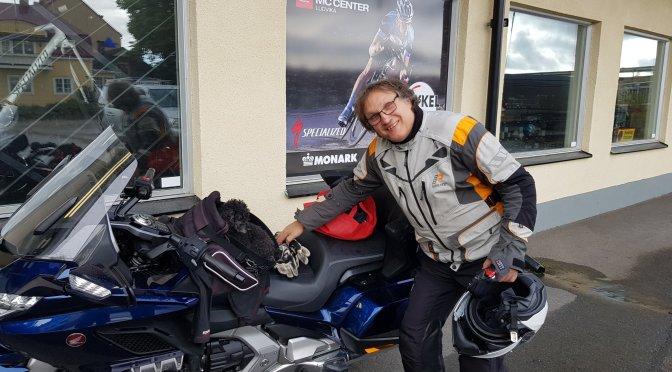 Rüdiger, Tyson und ein gemeinsames Motorrad