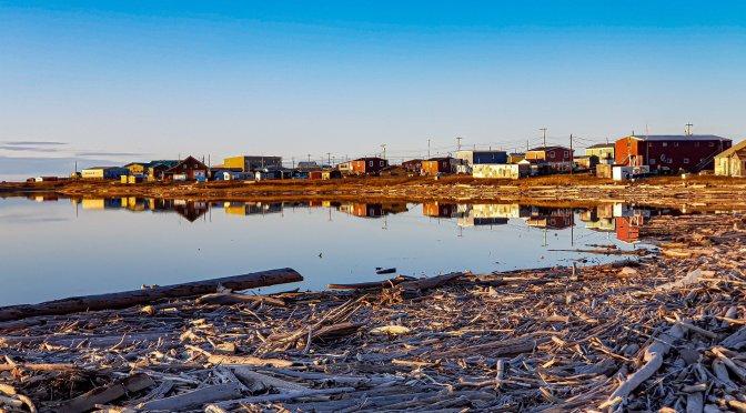 Tuktoyaktuk am Arktischen Meer